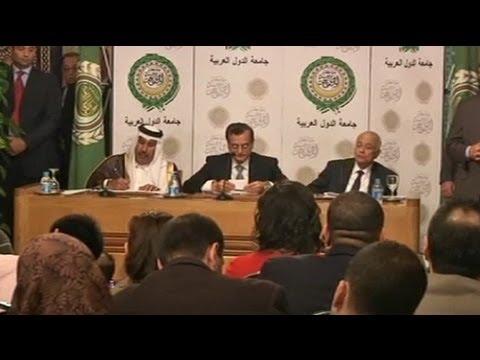 La Liga Árabe reconoce a la nueva coalición opositora como representante de Siria