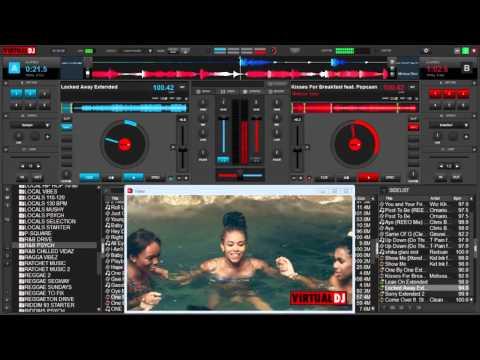 VIRTUAL DJ 8 MIX – CLUB R&B AND HIP HOP