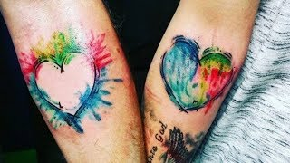 Together Forever   Matching Tattoo Ideas For Couples