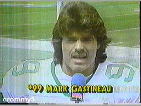 1985 NFL New York Jets' Mark Gastineau