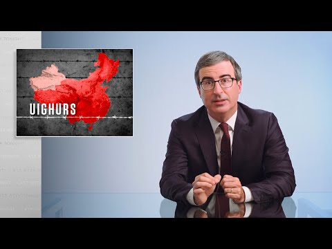 Čína a Ujgurové - Last Week Tonight