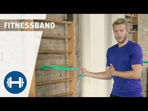 Fitnessband Übungen für Anfänger | Sport-Thieme