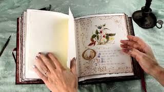 Old English Book Journal - Handmade Book No.2