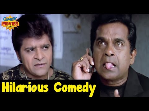 Hindi Comedy Videos | Brahmanandam and Ali Hilarious Comedy | Relax Hindi Film | Funny Movies Scenes