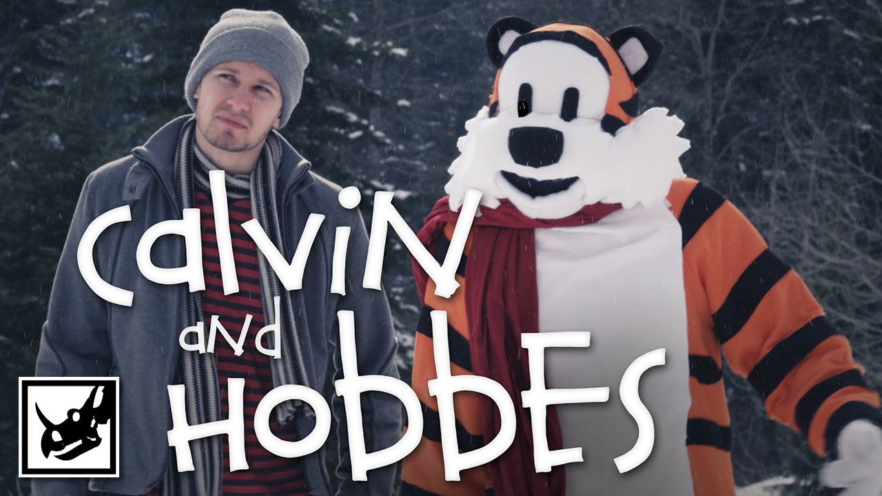 What If Calvin And Hobbes Was… Gritty?