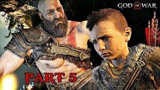 God Of War Walkthrough Part 5 - A Realm Beyond | PS4 Pro Gameplay