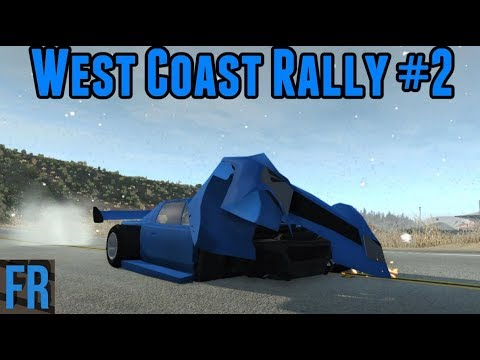 BeamNG Drive - West Coast Rally #2