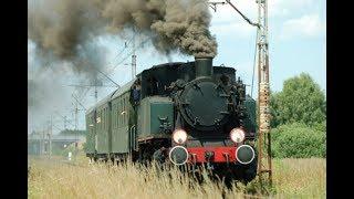 Wieruszow zabytkową lokomotywa parowa