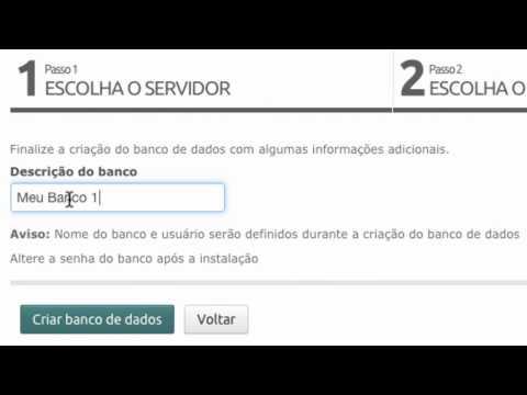 Servidor Gerenciado com gerenciamento de Banco de Dados