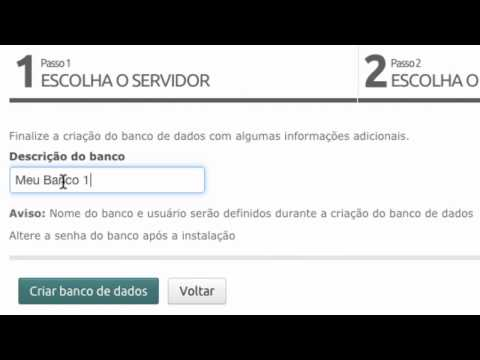 Administrar Banco de Dados