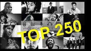 Top 250 Best Songs Ever 1930s-2010s