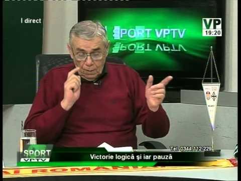 Emisiunea Sport VPTV – Florin Bercea, Adrian Nistoroiu și Marian Ilie – 10 noiembrie 2014