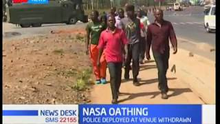 NASA Oathing: Kibera residents give their views on the swearing-in