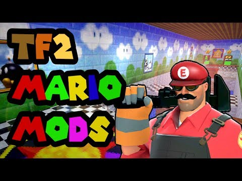 TF2's Mario Gamemode Mods, only on the Nintondo Witch