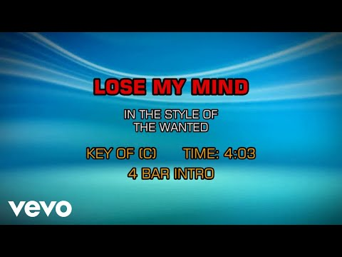 The Wanted - Lose My Mind (Karaoke)
