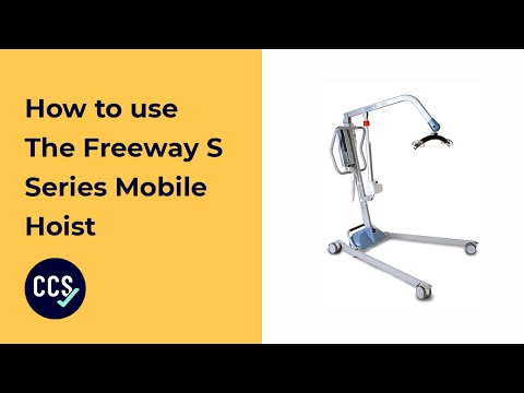 Freeway S-160 Mobile Hoist Instructional Video