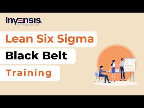 Lean Six Sigma Black Belt Training | Invensis Learning - YouTube