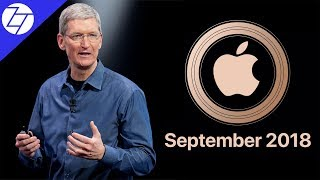 Apple September 2018 Event - 10 Things to Expect!