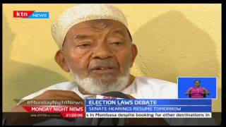 Monday Night News: Interfaith Council of Kenya religious leaders are divided over elections laws