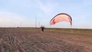 105 lb Paramotor take off 4 gallons of gas