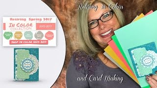 What you need to know about retiring Stampin Up In Colors and Card Making