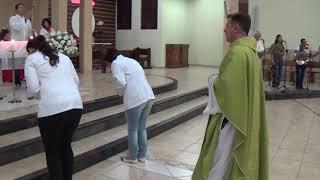 Canto de Entrada - Missa do 27º Domingo do Tempo Comum e 4º Dia da Novena a Nossa Senhora Aparecida (06.10.2018)