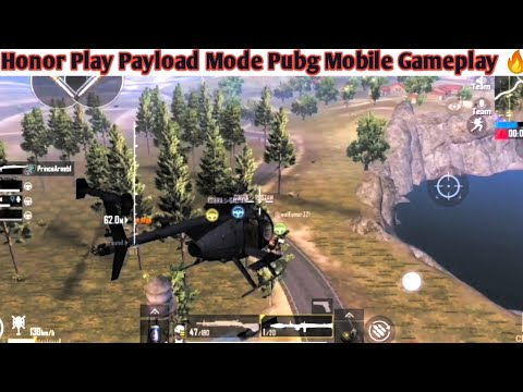 PUBG MOBILE Payload Mode Gameplay In Honor Play 🔥! New helicopter New Guns, and Many More Items 😍