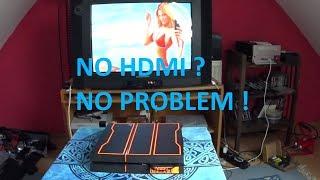 Playstation 4 an alte Röhrenglotze anschliessen - geht das?