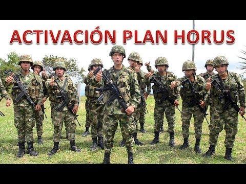 Ejército activa el Plan Horus