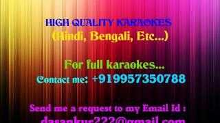 SHISHI BHARI GULAB KI Karaoke By Ankur Das   - YouTube