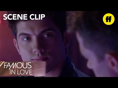 Famous in Love | Season 1, Episode 6: Rainer and Alan Talk at the Bar | Freeform