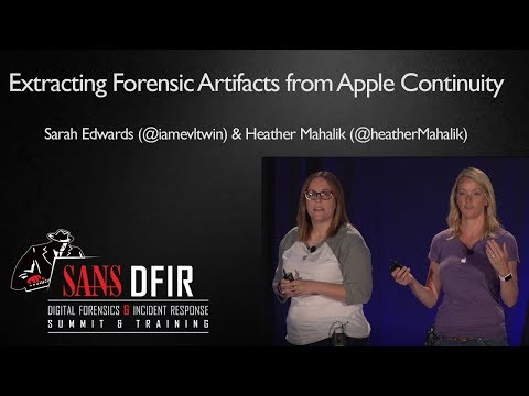 The Cider Press: Extracting Forensic Artifacts from Apple Continuity ...