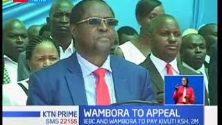 Embu governor Martin Wambora to appeal court ruling