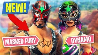 Fortnite *NEW* Masked Fury & Dynamo Skins!! (Fortnite Battle Royale) | Kholo.pk