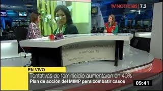 """Mimp: """"hay Un Incremento Del 21% De Feminicidios Y 40% En Tentativa Del Mismo"""""""