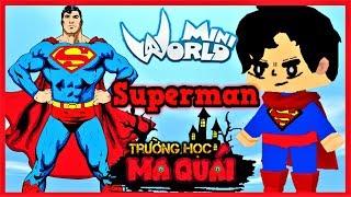 TRƯỜNG HỌC MA QUÁI: -tập 14- 1 ngày làm Superman | Sự trả thù của đại ca côn đồ | Phong Cận Tv
