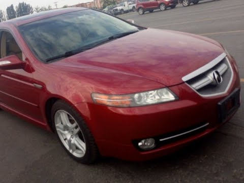 Acura TL Sporty Sedan With Navigation Heated Leather Seats - Acura tl leather seats