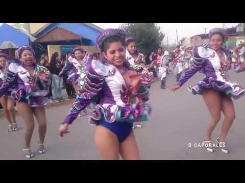 Chicas bailando caporales 12 (Amaru - Noche de amor)