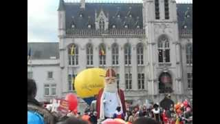 preview picture of video 'Intrede van Sint in Sint-Niklaas 2012'