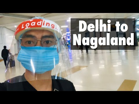 How to travel during Lockdown | New guidelines | Delhi to Nagaland | via Imphal