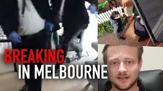 WATCH: Ex-Soldier ARRESTED for Facebook post in Melbourne
