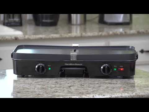 Hamilton Beach® 3-in-One Grill/Griddle 38546