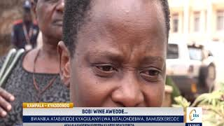 Bwanika Ayongedde Okutabukira Bobi Wine Kubutamulonda, Nambooze Amusekeredde