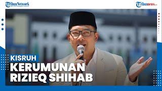 Ridwan Kamil Ungkapkan Kisruh Kerumunan Rizieq Shihab Berawal dari Mahfud MD