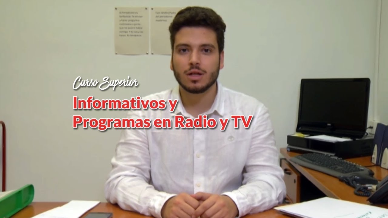 curso superior informativos TV