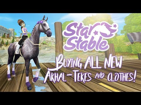 Buying ALL NEW Akhal-Tekes & more clothing! | Star Stable Updates