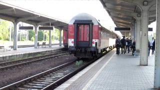 preview picture of video 'Príchod R 810 Leier Banská Bystrica'