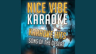 Hand of Fate (Karaoke Version) (Originally Performed By Sons of the Desert)