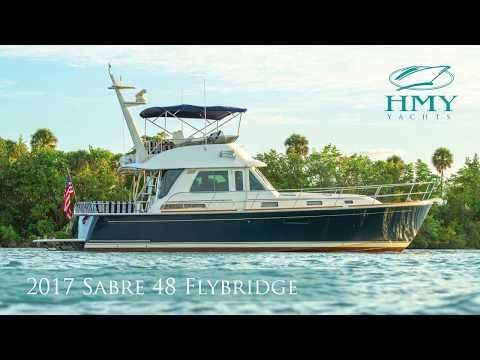 Sabre 48 Flybridge video