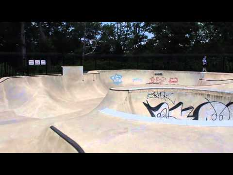 Scalzi Skatepark, Stamford CT overview
